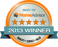 Best of Home Advisor 2013 Winner