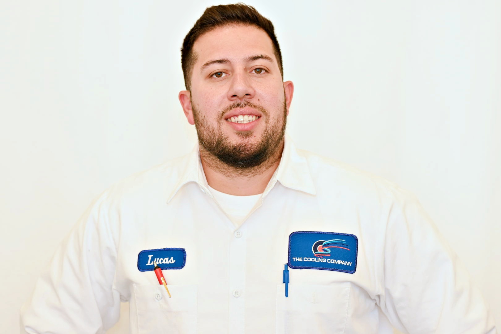 technician Lucas of Cooling Company
