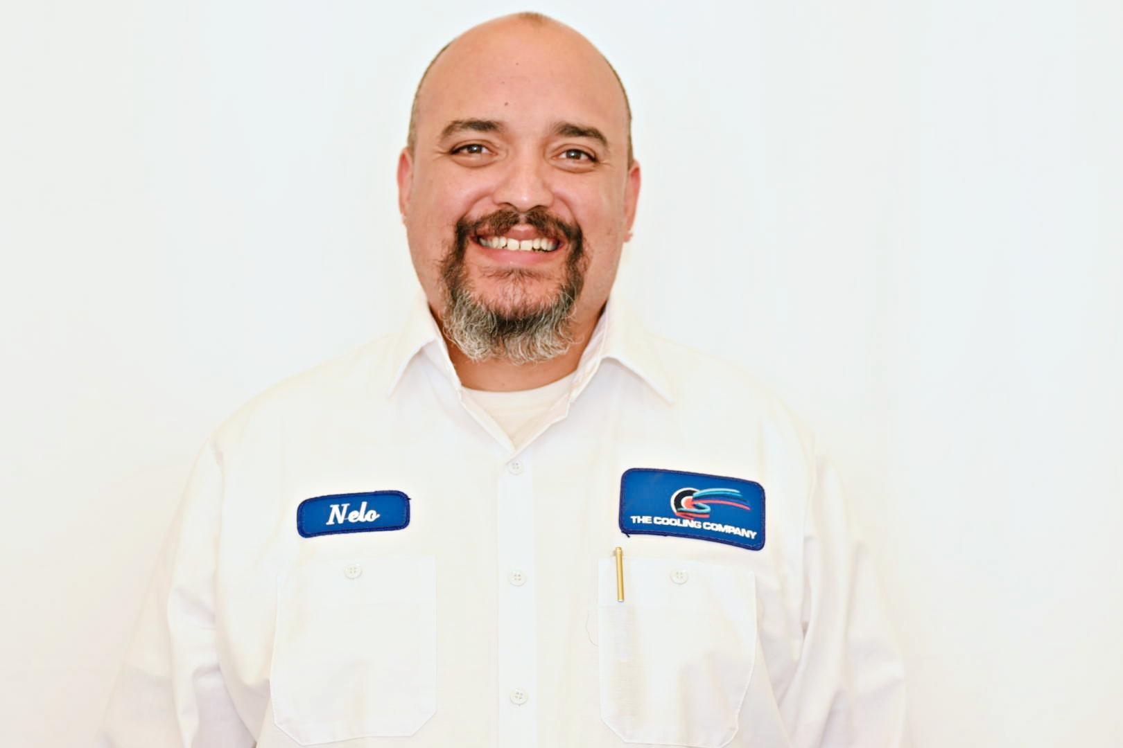 technician Nelo of Cooling Company