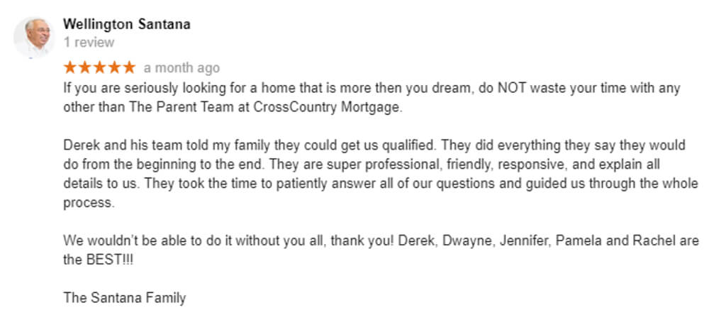 Testimonial about The Parent Team