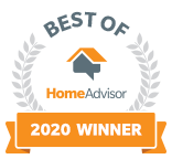 2020 Best of Home Advisor Winner Badge